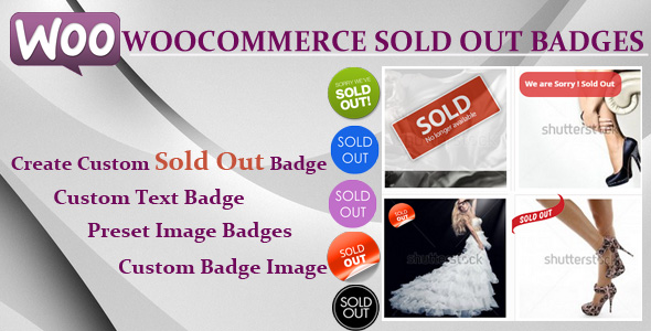 Woocommerce Sold Out Badge