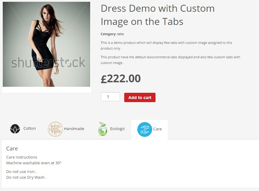 Gestionnaire d'onglets Woocommerce - 7