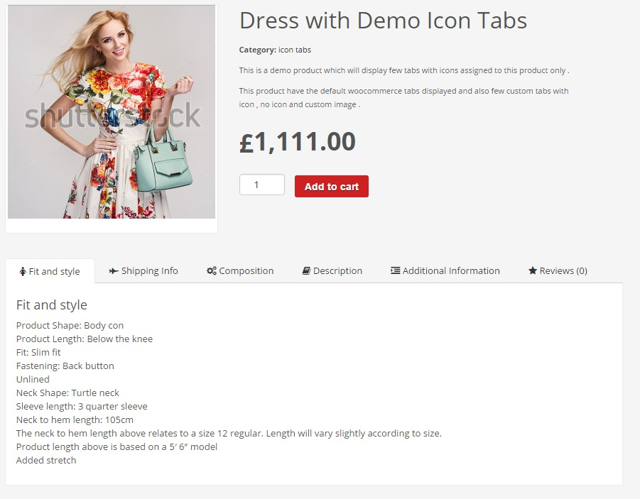 Gestionnaire d'onglets Woocommerce - 6