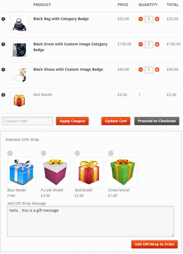 WooCommerce Gift Wrap Order - 6