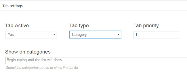 Woocommerce Tabs Manager 10